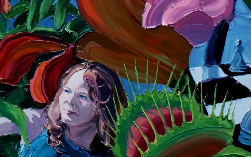 Garden of Earthly Delights Giclee art print of Original Artwork by Steve Tyerman 13922684