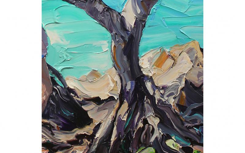 And Whisper A Secret To The Sea Giclee art print of Original Artwork by Steve Tyerman 837950514