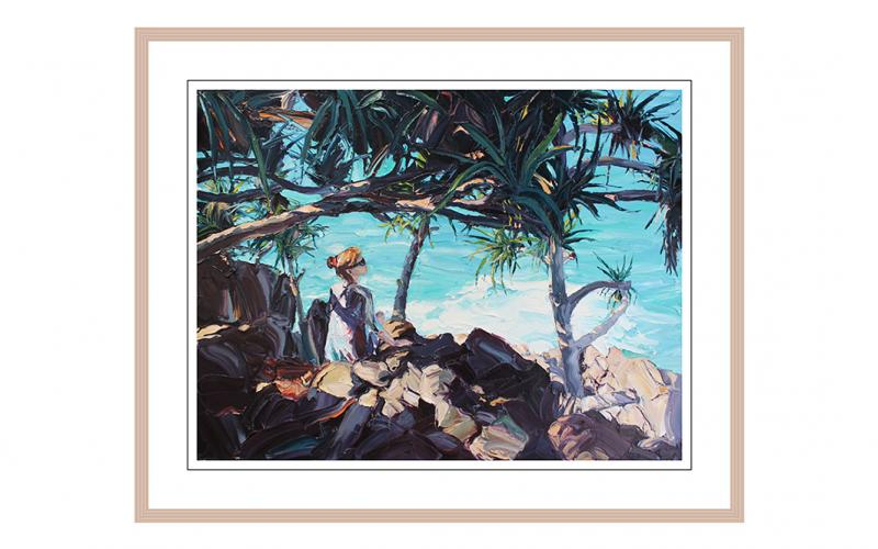 The Secrets Of The Sea Giclee art print of Original Artwork by Steve Tyerman 879082088