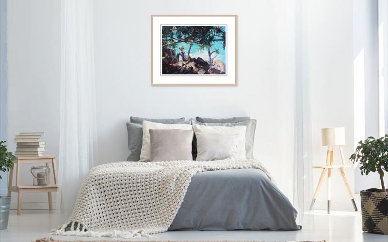 The Secrets Of The Sea Giclee art print of Original Artwork by Steve Tyerman 587329289