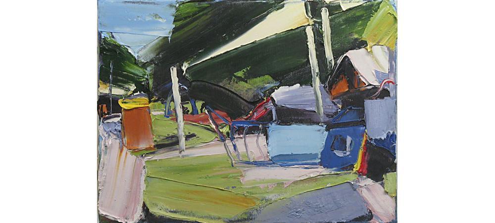 Parklands 3 Synthetic Landscape by Steve Tyerman