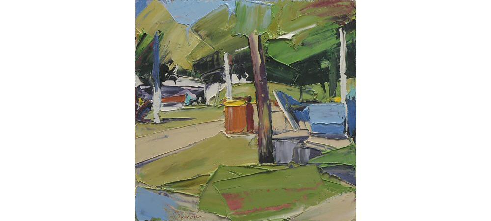 Parklands 4 - Village Green by Steve Tyerman