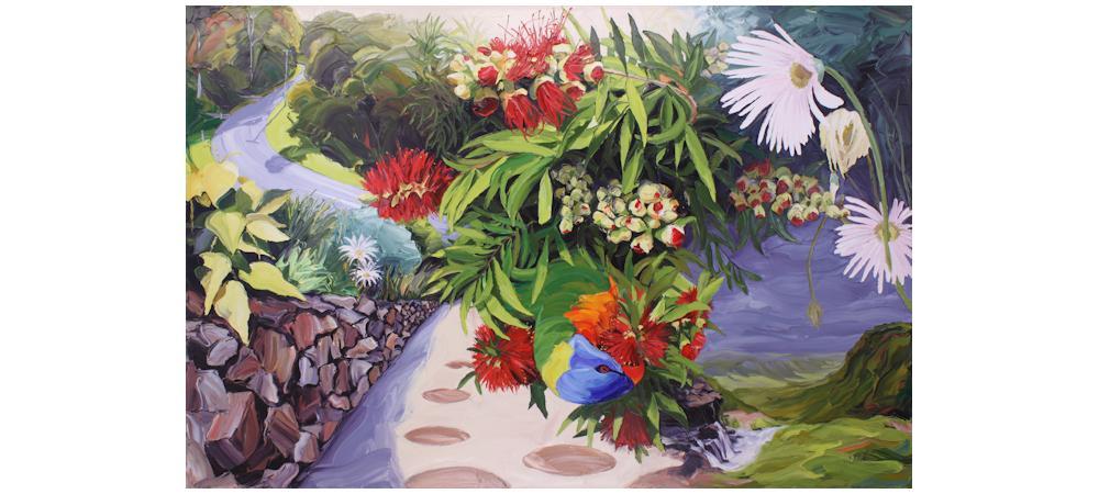 The Rockery Garden by Steve Tyerman