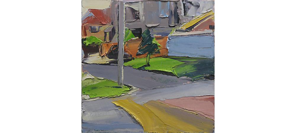 Suburban Landscape 3 Opposite the Park by Steve Tyerman